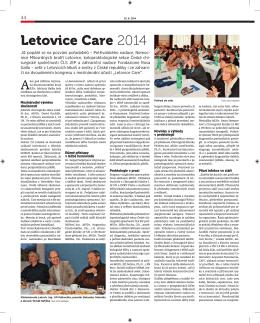 První strana (PDF) - LETOVICE CARE 29.