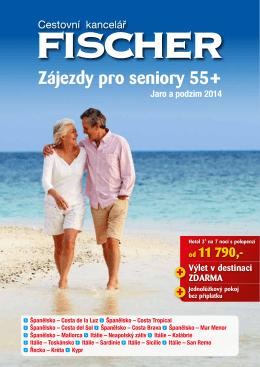 Zájezdy pro seniory 55+