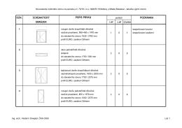 11_Tabulka výplní otvorů_print