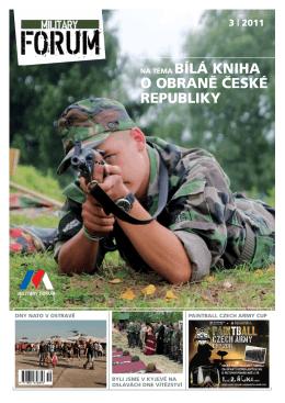 MILITARy FORUM 3/2011 - Svaz důstojníků a praporčíků Armády