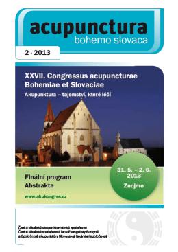 2013 - 2 - Česká lékařská akupunkturistická společnost