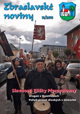 Zbraslavské noviny 11/2011