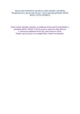 SZZ - Zpracování a rozpoznávání obrazu.pdf