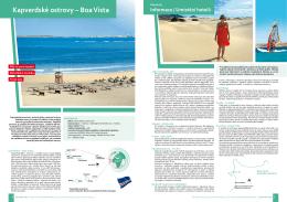 Kapverdské ostrovy – boa Vista