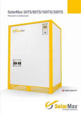 SolarMax 50TS/80TS/100TS/300TS
