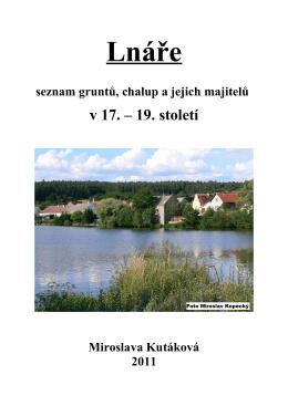 Lnáře - seznam gruntů a chalup v 17