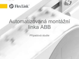 Automatizovaná montážní linka ABB