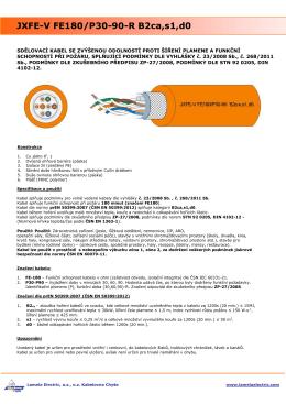 JXFE-V FE180/P30-90-R B2ca,s1,d0