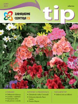 Jaro 2013 - Zahradní centra CS, obchodní družstvo