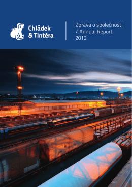 Zpráva o společnosti / Annual Report 2012