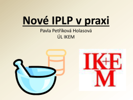Nové IPLP v praxi konference 2014
