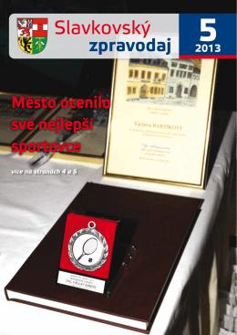 Slavkovský zpravodaj - květen 2013