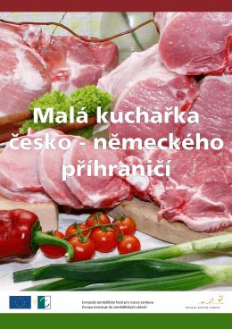Malá kuchařka česko–německého příhraničí
