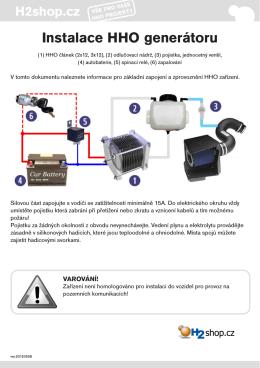 Návod na instalaci (PDF)