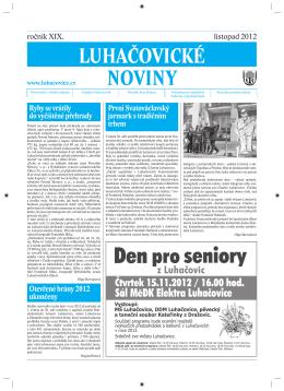 Luhacovice listopad.indd - Město Luhačovice