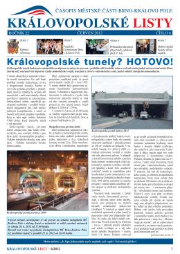 červen 2012 - Královo Pole