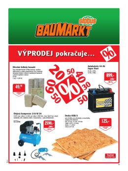 VÝPRODEJ pokračuje… - Globus Baumarkt Brno