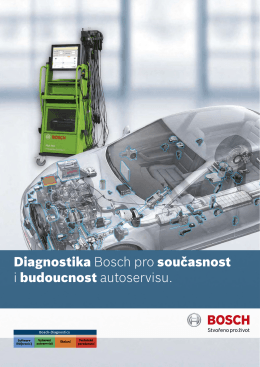 K atalog diagnostiky Bosch