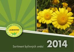 Katalog 2014 - Sortiment bylinných směsí