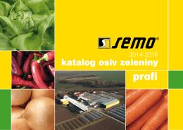 katalog osiv zeleniny
