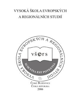 Výroční zpráva o činnosti soukromé vysoké školy