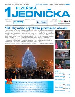 Zprávy z obvodu - Plzeň 1