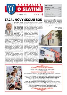 ZAČAL NOVÝ ŠKOLNÍ ROK - Brno