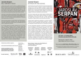 Jaroslav Serpan - Cermak Eisenkraft