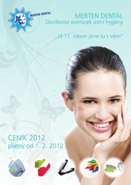 CENÍK 2012 - Merten dental
