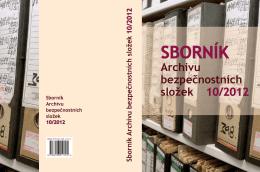 Sborník Archivu bezpečnostních složek 10/2012