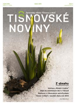 Z obsahu - Město Tišnov