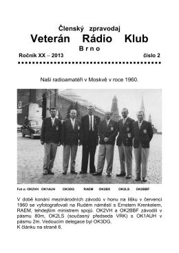 2/2013 - Veterán Radio Klub