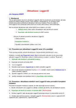 Automatické aktualizace programu (PDF)