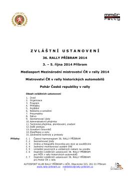 Rally Příbram - ZU