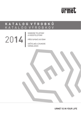 katalog urmet 2014