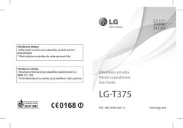 LG-T375 - mobilTEL.cz