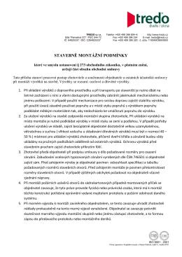 TREDO_stavebně montážní podmínky.pdf