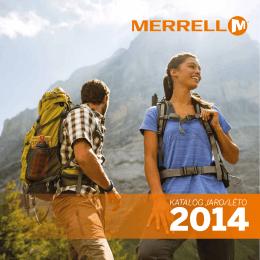 Stáhněte katalog MERRELL