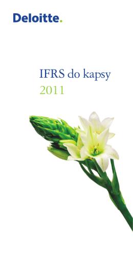 IFRS do kapsy 2011