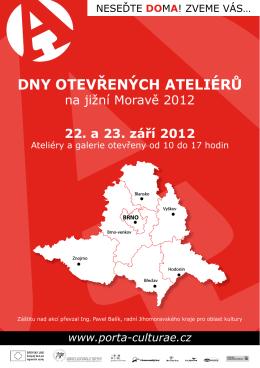 Dny otevřených ateliérů na Jižní Moravě