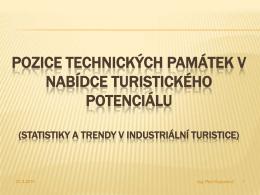 Technické památky a industriální turistika