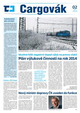 Plán výlukové činnosti na rok 2014