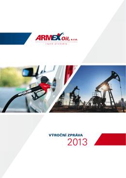 VÝROČNÍ ZPRÁVA - ARMEX Oil, sro