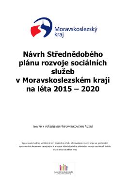 Návrh Střednědobého plánu rozvoje sociálních služeb v