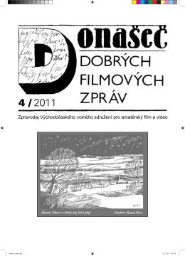 Zpravodaj Východočeského volného sdružení pro amatérský film a