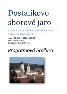 Program DSJ - Festivia Chorus