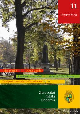 Zpravodaj města Chodova - Kulturní a společenské středisko Chodov