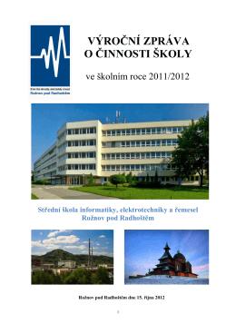 Výroční zpráva 2011-2012 - SŠIEŘ