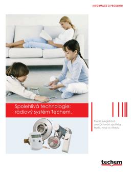 Brožura rádiový systém