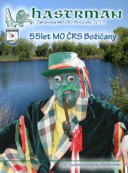 55let MO ČRS Božičany